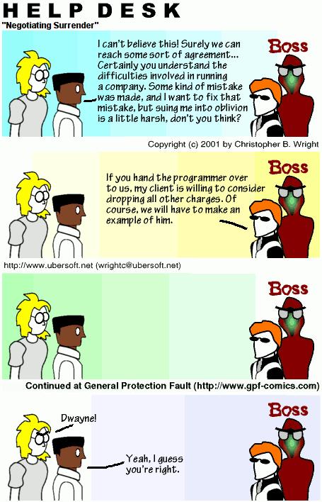 Negotiating Surrender