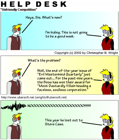 Unfriendly Competition
