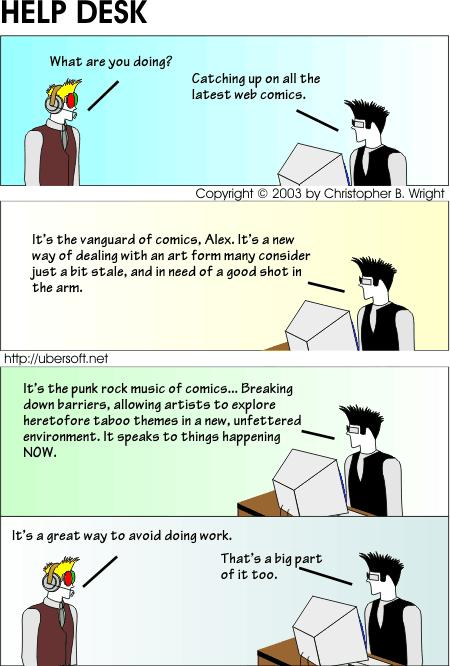 Web Comics Awareness Day