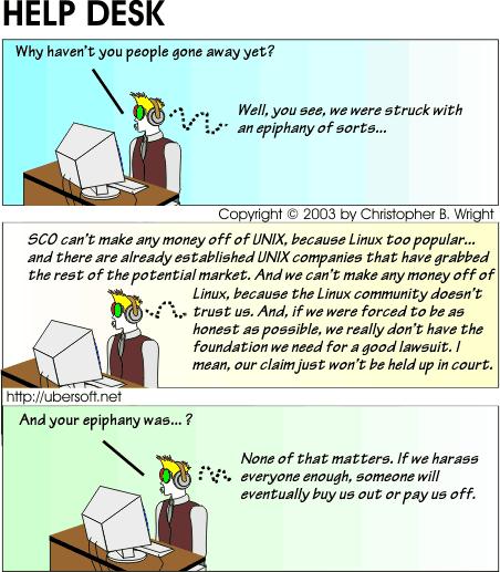 SCO Has An Epiphany